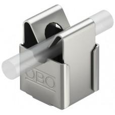 5207339 Безболтовой держатель для круглых проводников Rd 8, со сквозным отверстием Ø 5 мм