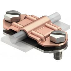 5336503 Биметаллический разделительный зажим для круглых проводников Rd8-10 и плоских проводников FL30-40