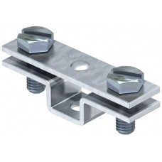 5032040 Держатель для плоских проводников с крепежным отверстием д6,5 мм