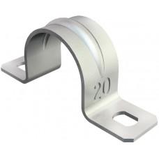 1018256 Двухлапковая скоба 25 мм