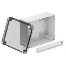 2007776 Коробка Т250 240х190х112 мм с высокой прозрачной крышкой