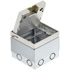 7427090 Лючок UDHome2 с выемкой для напольного покрытия в крышке из нержавеющей стали, пустой