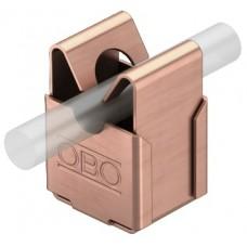 5207800 Медный безболтовой держатель для круглых проводников Rd 8, со сквозным отверстием Ø 5 мм