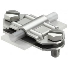 5336457 Нержавеющий соединительный зажим для круглых проводников Rd 8-10 и плоских проводников FL 30-40