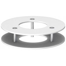 6290269 Потолочная накладка для 1-секционной электромонтажной колонны ISSRM45F белая
