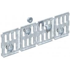 6067115 Продольный/угловой соединитель лотка Н=60 мм
