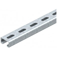 1122953 Профильная рейка 41х21х400 мм шлиц 22 мм
