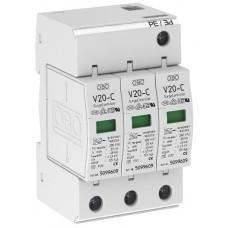 5094624 Разрядник для защиты от перенапряжений 3-полюсный V20-C