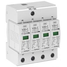 5094627 Разрядник для защиты от перенапряжений 4-полюсный V20-C