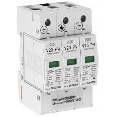5094608 Разрядник для защиты от перенапряжений V20 для фотогальванических установок, 1000 В постоянного тока