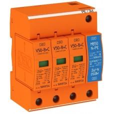5093654 Молниезащитный разрядник и устройство защиты от перенапряжений, 3-полюсный + NPE