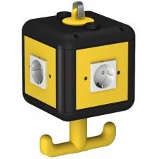 6109802 Розеточный блок VH-4 с 4 розетками с з/к