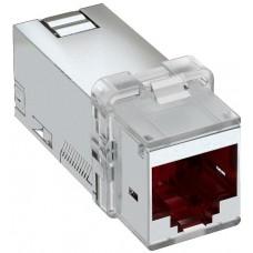6117346 Информационный модуль RJ45, cat6A STP с адаптером под Keystone
