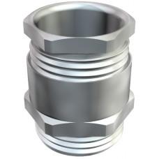 2083712 Кабельный ввод М16 никелированный, кольцо с выемкой