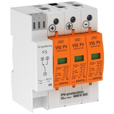 5093625 Комбинированный разрядник V50 для фотогальванических установок, 600 В постоянного тока, с дистанционной сигнализацией