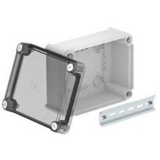 2007774 Коробка Т160 190x150x94мм с высокой прозрачной крышкой