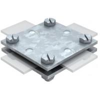 5314666 Крестовой соединитель для плоских проводников 40х4мм