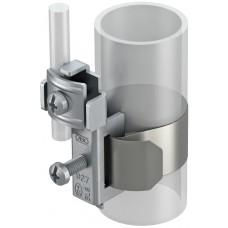 5057515 Ленточная заземляющая скоба из нержавеющей стали для труб 3/8-11/2 дюйма