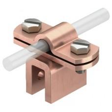 5317258 Медная фальцевая клемма для круглых проводников Rd 8-10, до 10 мм