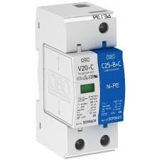 5094650 Разрядник для защиты от перенапряжений 1-полюсный + NPE V20-C