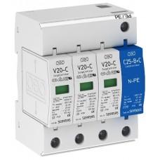5094656 Разрядник для защиты от перенапряжений 3-полюсный + NPE 280V V20-C