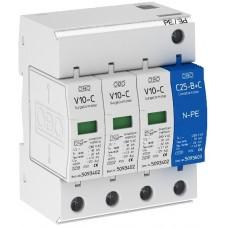 5094920 Разрядник для защиты от перенапряжений 3-полюсный + NPE V10-C