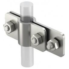 5001366 Соединительный зажим для плоских проводников и стержней заземления