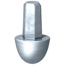 3041204 Ударный наконечник для стержня заземления OMEX д20 мм